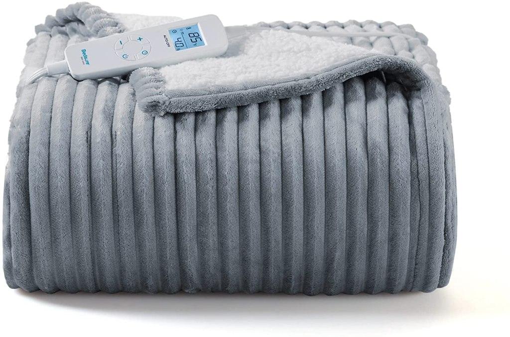 Bedsure Heated Blanket Electric Throw - Electric Blanket