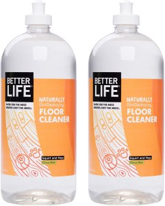better life naturally dirt destroying floor cleaner
