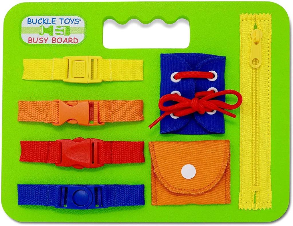Buckle Toys Busy Board