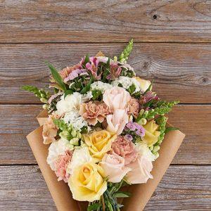 Bouqs Co Buttercream flower arrangement, best gifts for her