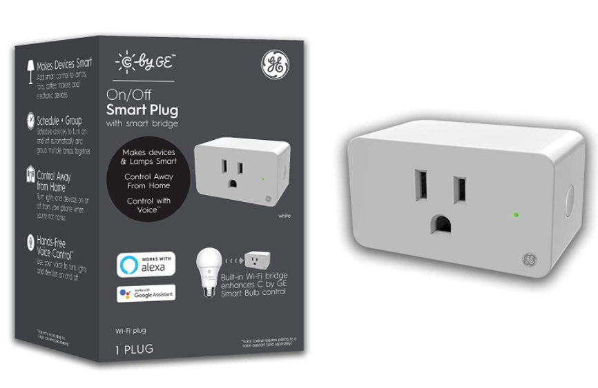 best smart plugs - C by GE smart plug