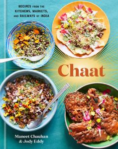 chaat indian cookbook, best cookbooks