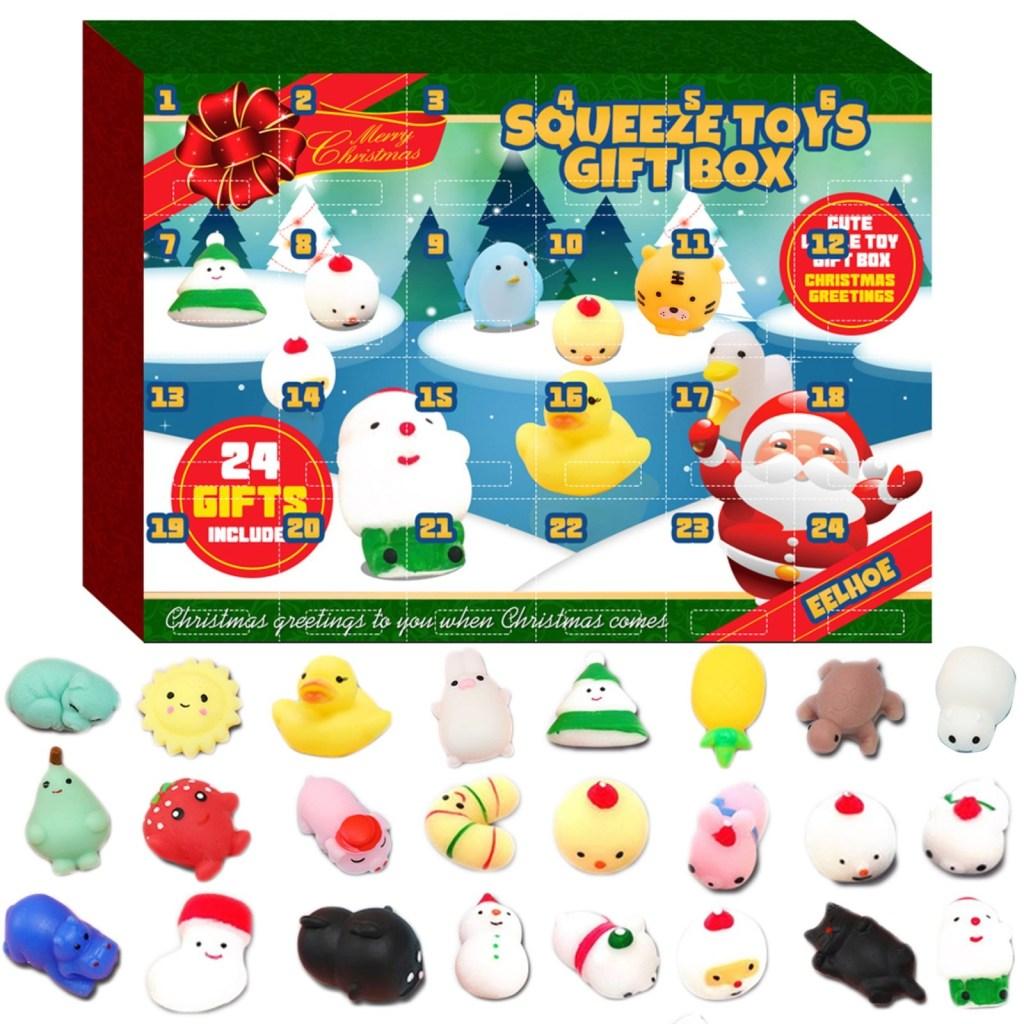 Christmas Gife Advent Calendar for kids 2021