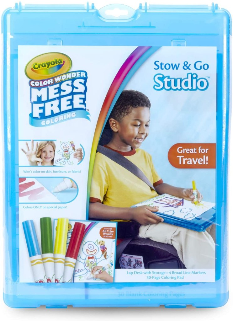 Crayola Color Wonder Stow & Go Mess Free Coloring