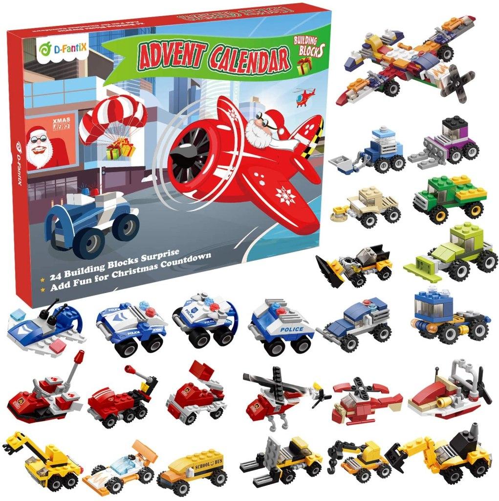 D-FantiX Christmas Advent Calendar for kids 2021