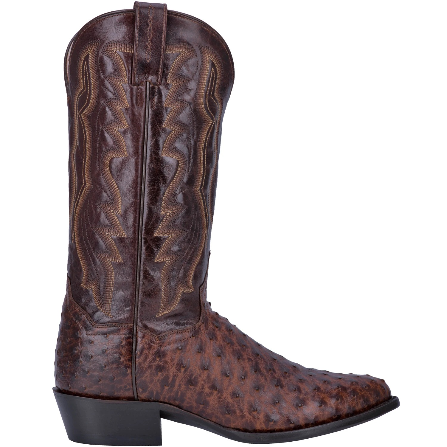 best western boots for men, Dan Post Pershing Full Quill Ostrich Boot