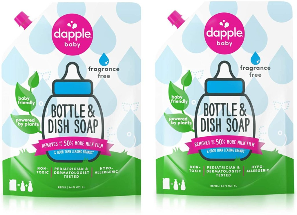 eco friendly cleaning products dapple baby bottle dish soap