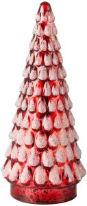 tabletop Christmas trees diamond star mercury glass