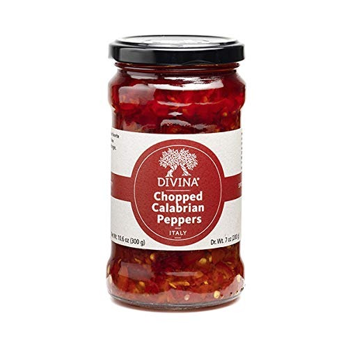 hottest hot sauces - Divina Chopped Calabrian Peppers