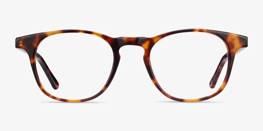 best blue light glasses - EyeBuyDirect Alastor round glasses in tortoise
