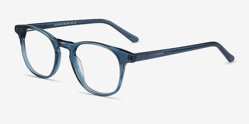EyeBuyDirect Alastor round glasses in blue