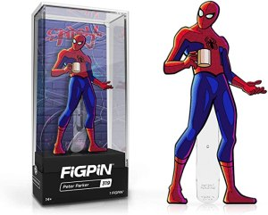 figpin spider man spiderman into the spider verse collectible pin