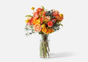 the firecracker arrangement urban stems, online flower delivery