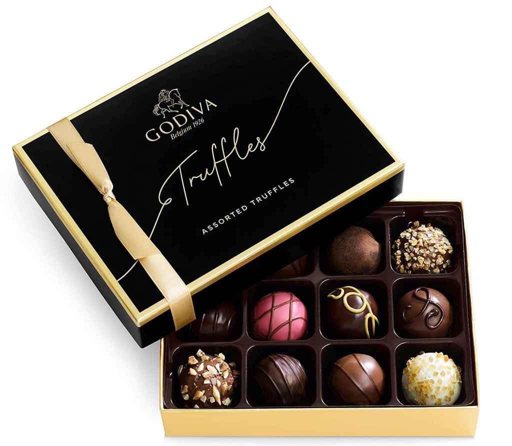 Godiva Chocolatier Signature Truffles Assorted Chocolate Gift Box