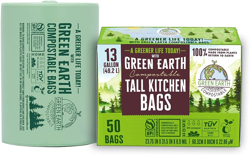 green earth compostable biodegradable