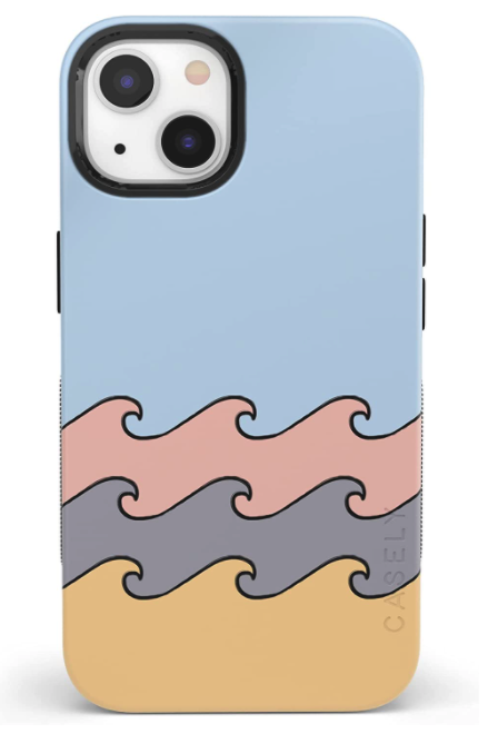 High Tide Layered Ocean Waves Case