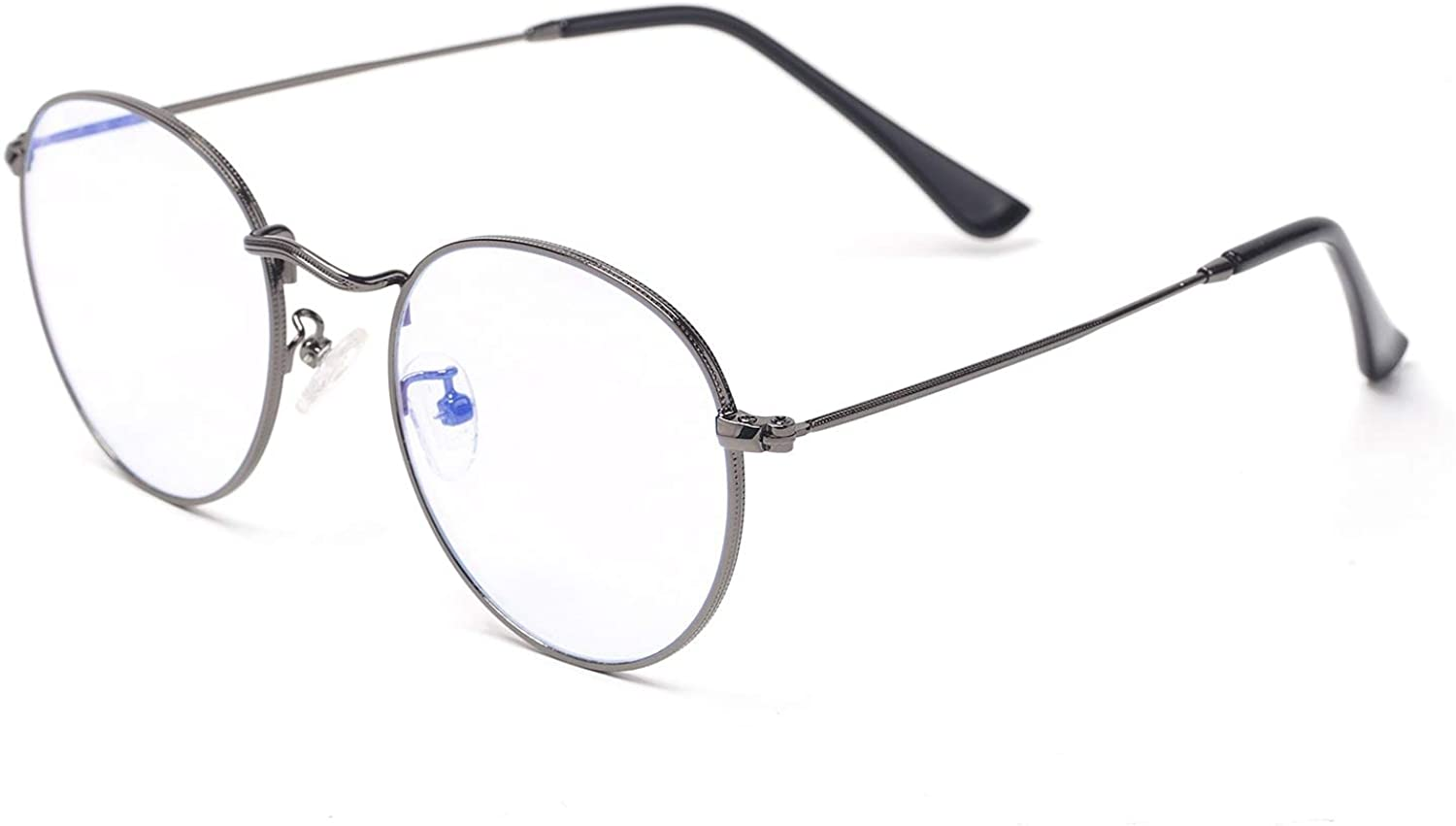 Holtmance all-metal blue light glasses in gray