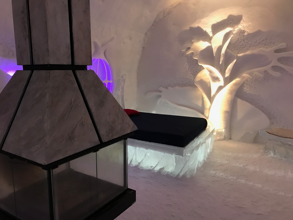 ice hotel travel report quebec