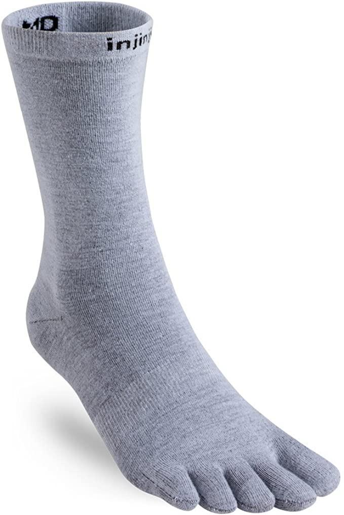 Injinji Nuwool Liner Crew Socks