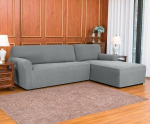 Ebern designs L-shaped sofa slipcover, sectional slipcovers