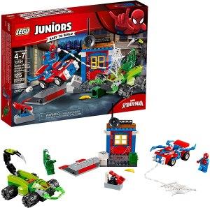 spiderman toys juniors lego showdown