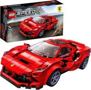 LEGO Speed Champions Ferrari F8 Tributo Building Kit (in red)