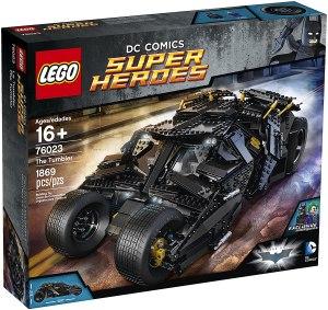 best LEGO car sets - batman tumbler building set