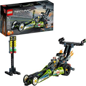 lego car sets: LEGO Technic Dragster Racing Toy Building Kit