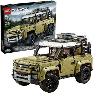lego car sets off road land rover defender building kit
