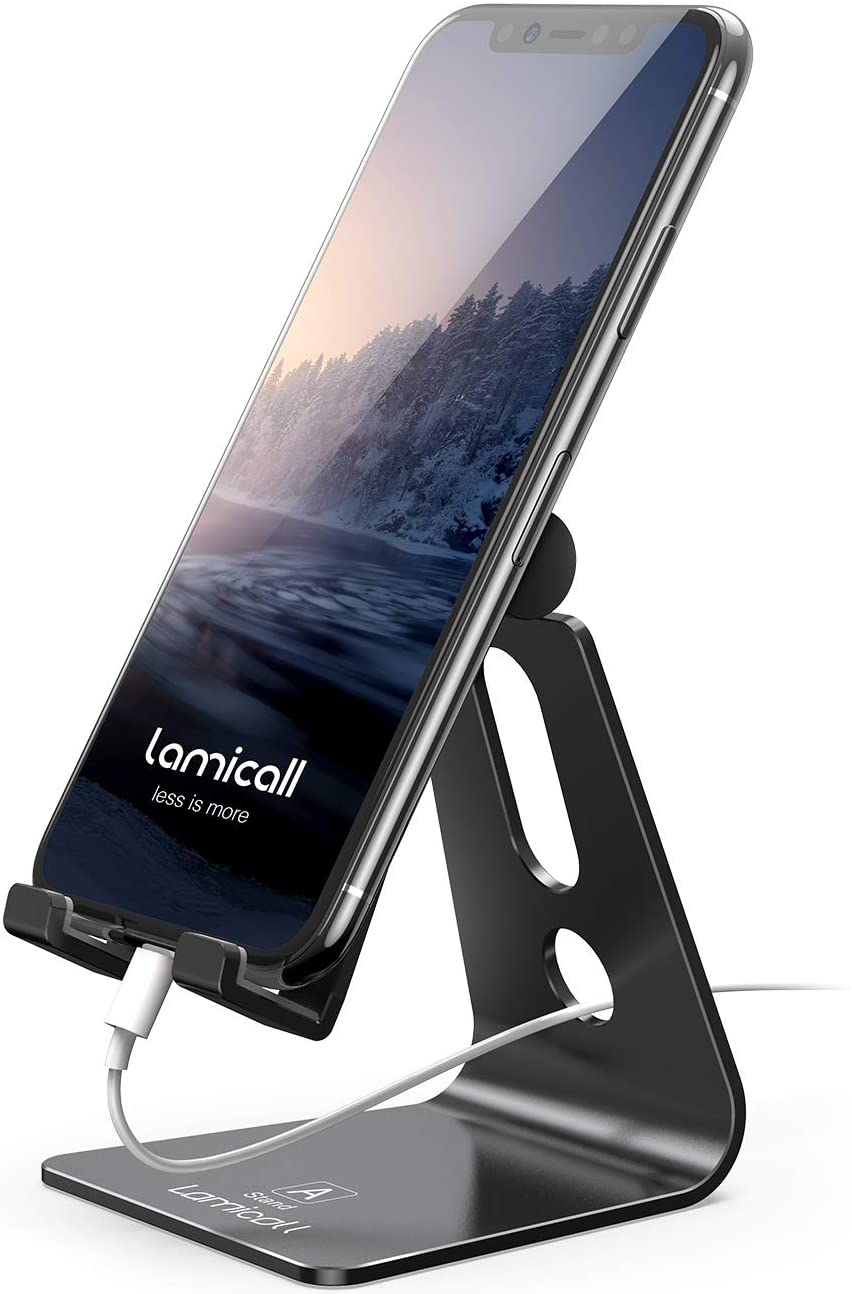 Lamicall Adjustable Cellphone Stand, best gifts for coworkers