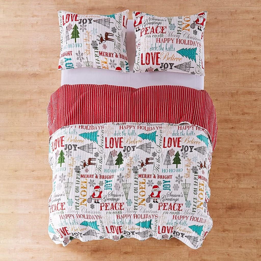 Levtex Home Santa Claus Lane Quilt Set