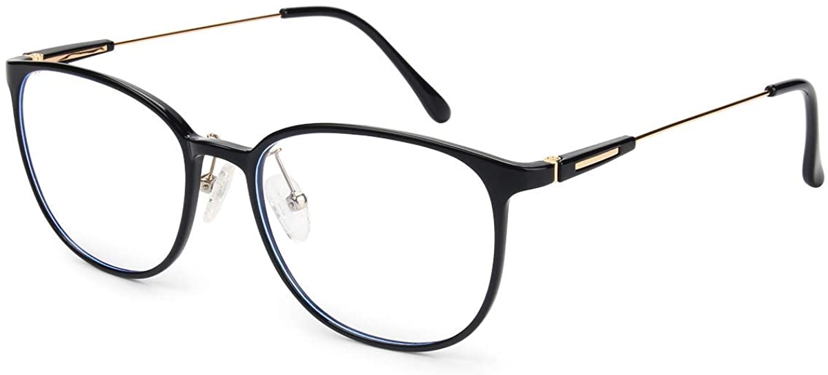 Livho blue light glasses in black and gold