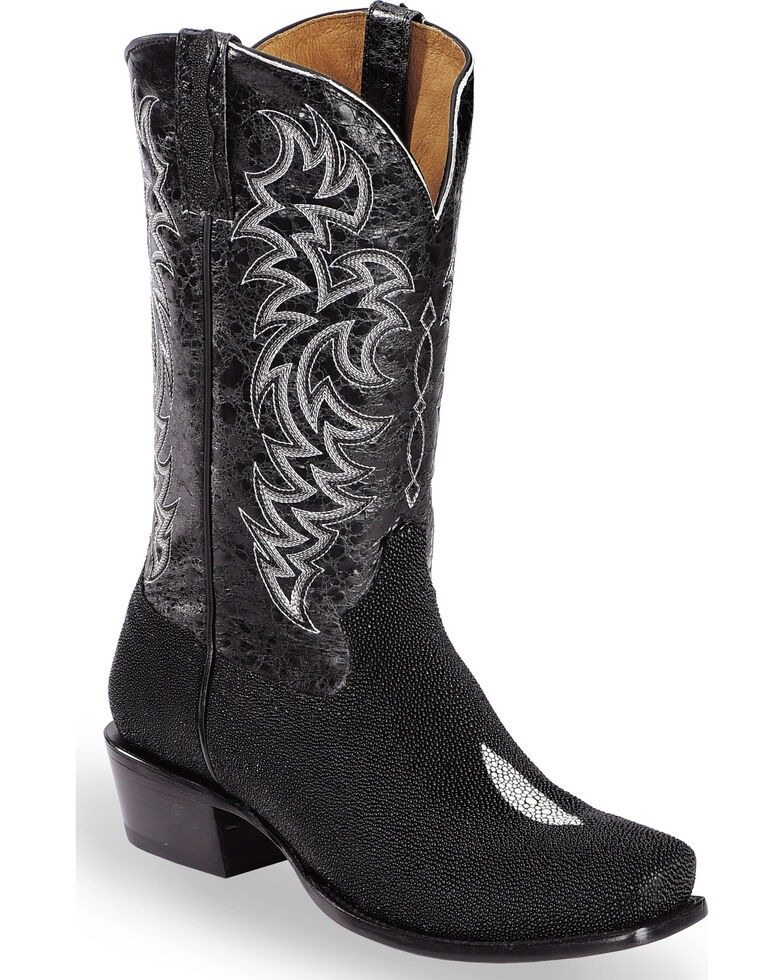best western boots for men, Moonshine Spirit Men's Stingray Exotic Boots