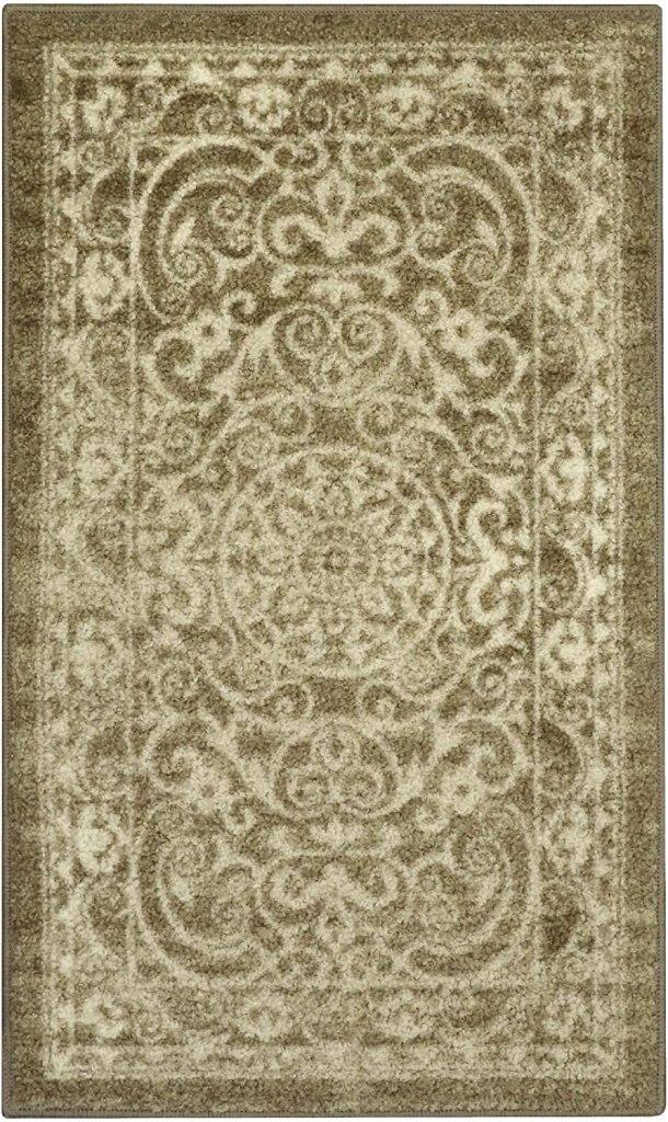 vintage style kitchen rug
