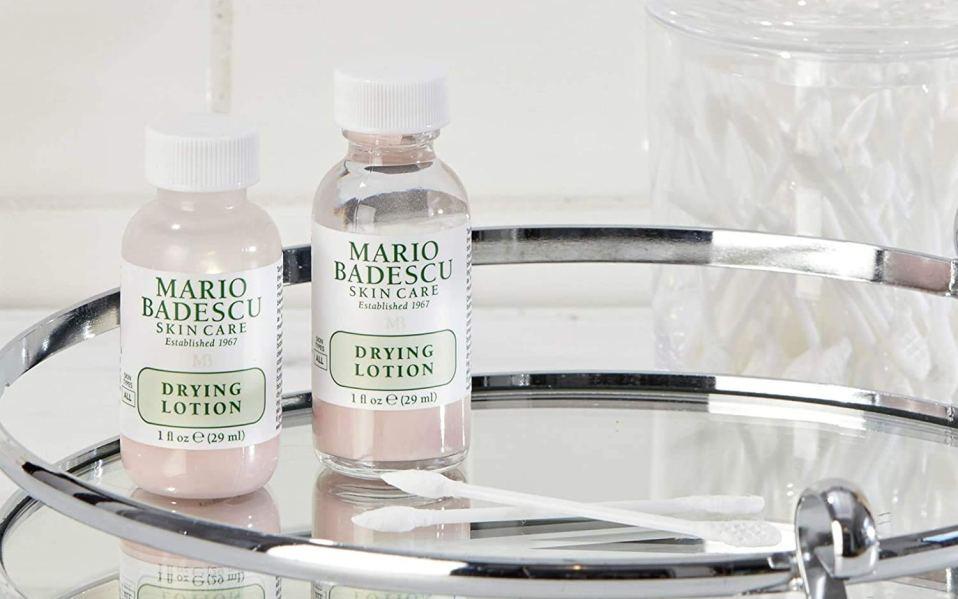 best pimple creams: Mario Badescu Drying