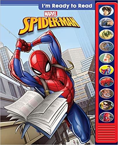 marvel spider man ready to read sound book