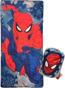 marvel spiderman dots slumber sack
