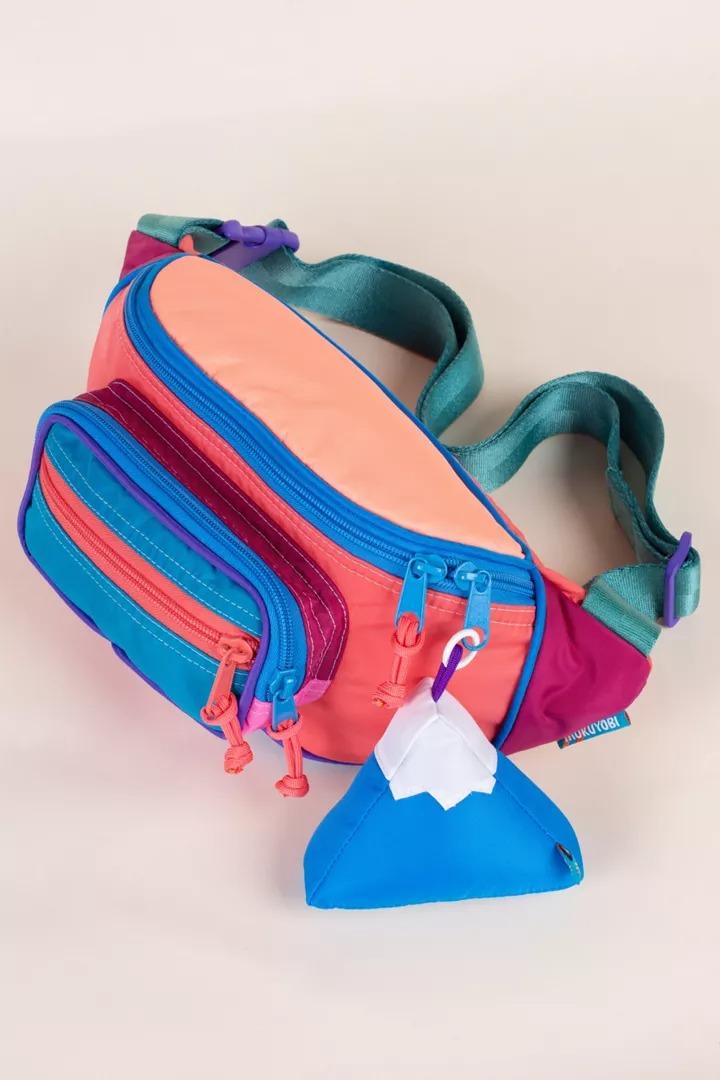 Mokuyobi Color Block Sling Fanny Pack