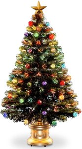 national tree company pre lit artificial christmas tree