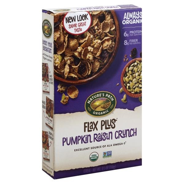 Path-Flax-Plus-Pumpkin-Raisin-Crunch, healthy cereals for adults