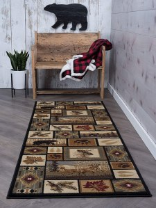kitchen rugs northern wildlife novelty