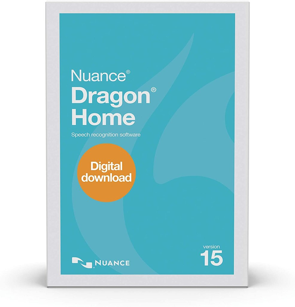 working from home gifts - Nuance Dragon Home