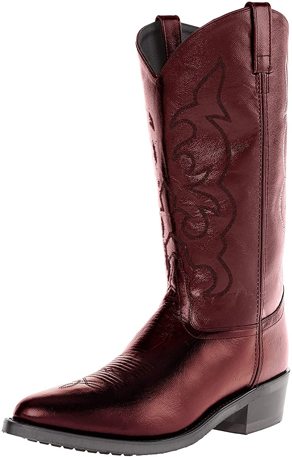 Old West Boots Cowboy Boots in cherry red