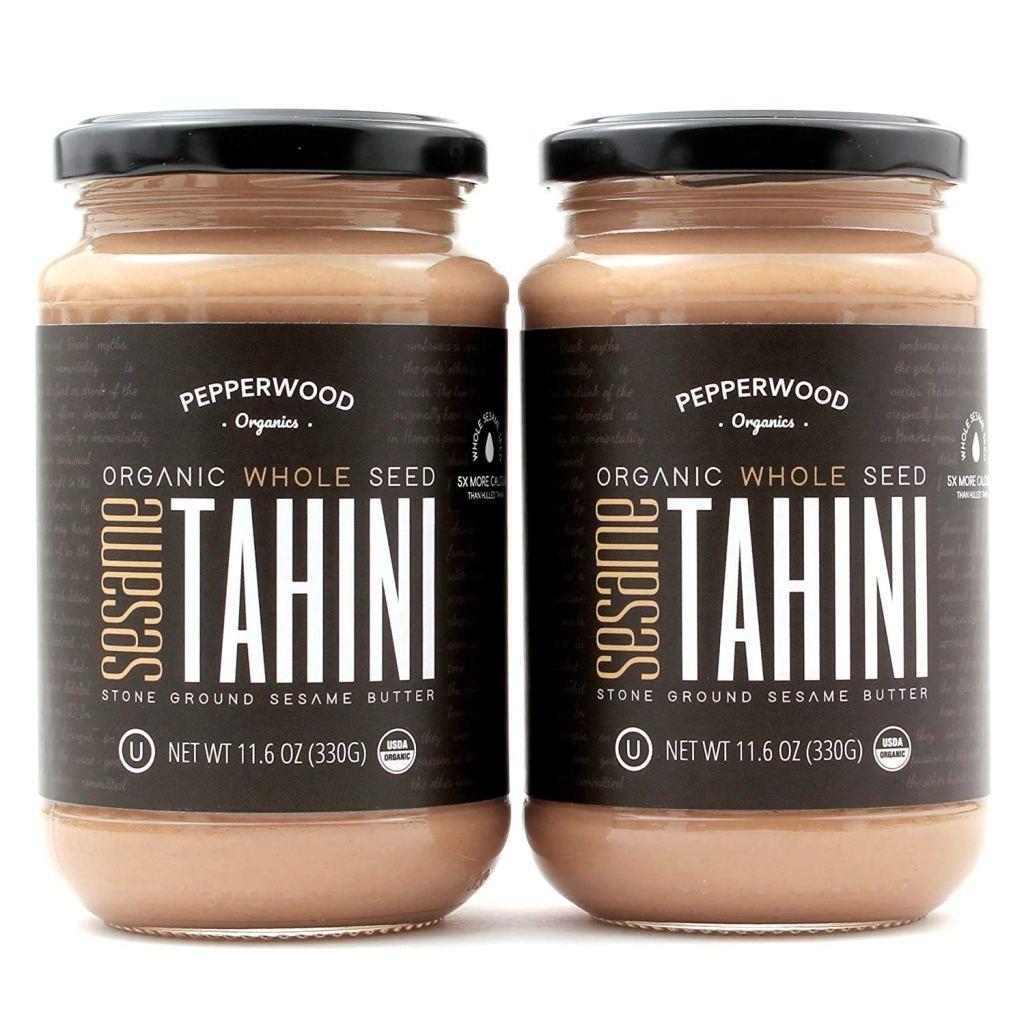 Pepperwood Organics Stone-Ground Whole Sesame Tahini Paste