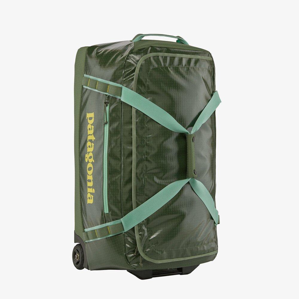 Patagonia Black Hole Wheeled Duffle Bag in green