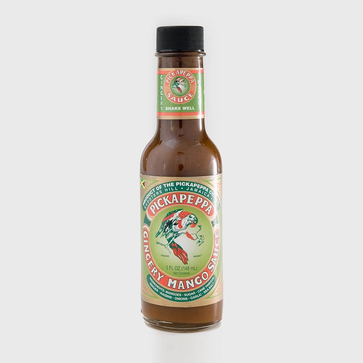 hottest hot sauces - Pickapeppa Gingery Mango Hot Sauce