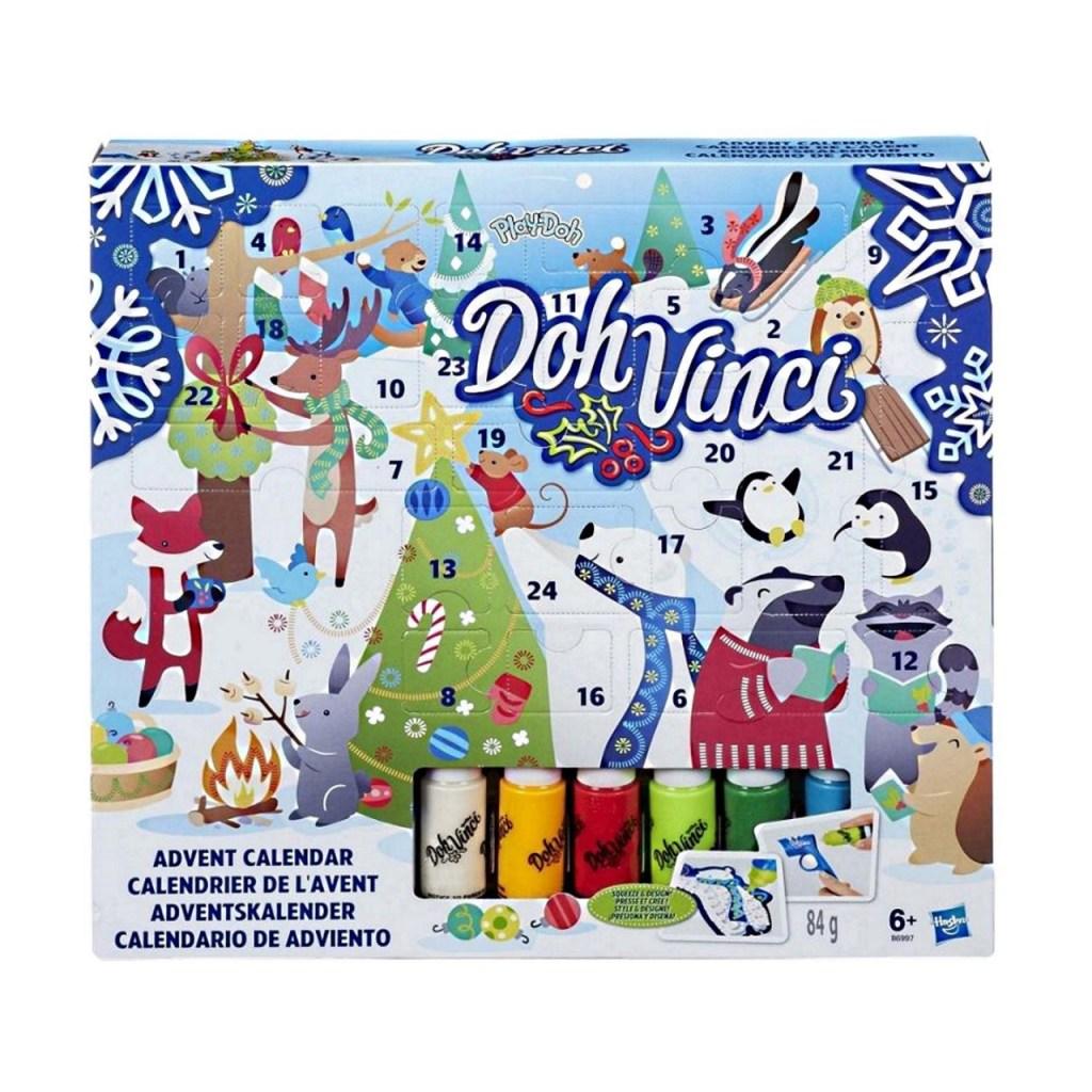 Play-Doh Doh Vinci Advent Calendar for kids
