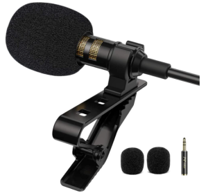PoP Voice Professional Lapel Microphone