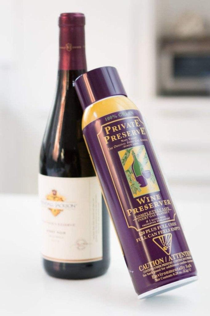 Private Preserve Wine Preservation System