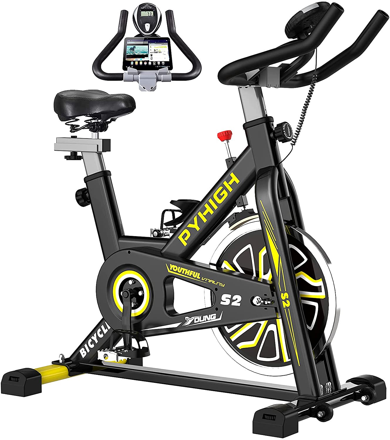 pyhigh indoor cycling bike, best Christmas gifts